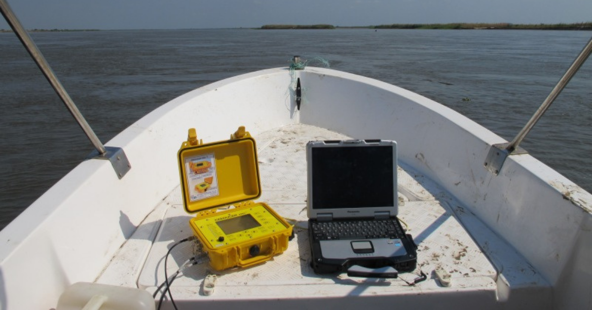 Why an Echo Sounder is the Perfect Partner for your Survey GPS